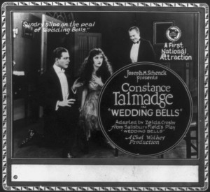 Constance Talmadge (a/p) Wedding Bells (1921), Constance Talmadge Film Company. LoC