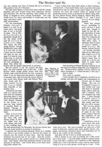 Mary MacLane (w/a) Photoplay. Jan. 1918, p. 25. PD