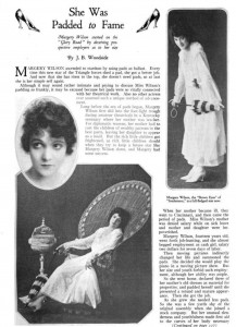 Margery Wilson (a). Photoplay Dec. 1917. PD