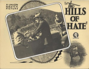 Lobby Card. Dorothy Gordon (a) The Hills of Hate, 1926. AUC