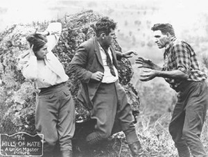 Dorothy Gordon (a/w/o), Gordon Collingridge and Bill Watson, The Hills of Hate, 1926. AUC