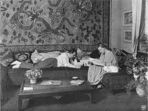 Thea Von Harbou (w/d) and Fritz Lang by Waldemar Titzenthaler