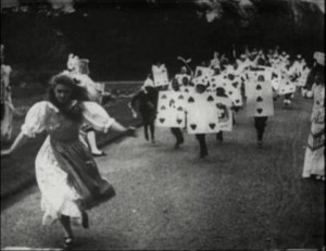 May Clark (a) in Alice in Wonderland (1903).
