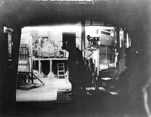 Biograph production filmed at 14th Street studio area 1905. USM.