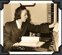 Margaret Booth (e) at work.