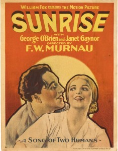 Poster of  Sunrise  (1927).