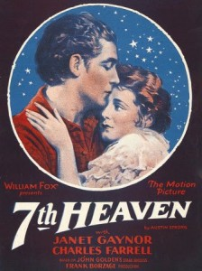 Poster of  Seventh Heaven  (1927).