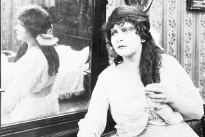 "Cleo Madison in ""Her Defiance"" (1916). PC"
