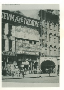 Arcades and theatre, Chicago 1912