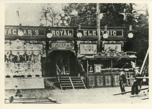 Hagar's royal Electric Bioscope construction