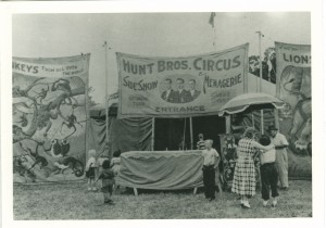 Hunt Bros. Circus side show (recent)