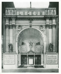 Lyceum Theatre Chicago 1910