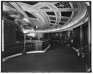 Loew's Palace Theater in Washington DC Lobby. LoC