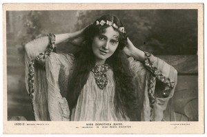 Dorothea Baird as Idolanthe in King Rene's daughter, c. 1907, postcard