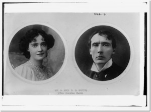 Dorothea Baird and H.B. Irving, Bain News Service