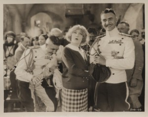 "John Gilbert, Mae Murray and Roy D'Arcy in ""The Merry Widow."" MoMI"