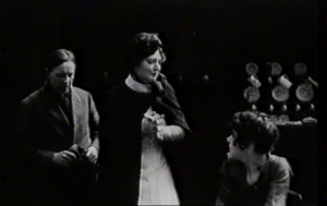 Dorothea Baird (w/p)  as Health Visitor in Motherhood (1917). Baird convinces Letty Paxton (Mary) and Jack Denton (Jack) to reconcile and for Mary to go to School for Mothers.