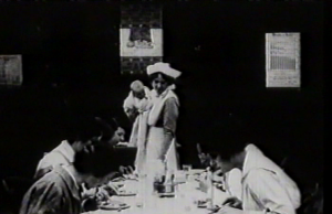Dorothea Baird (w/a/p) (Health Visitor) teaches mothers how to sew at School for Mothers in Motherhood (1917)
