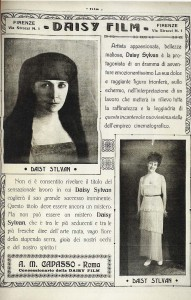 Daisy Sylvan in Film, VII (February 19, 1920): n.p. PC