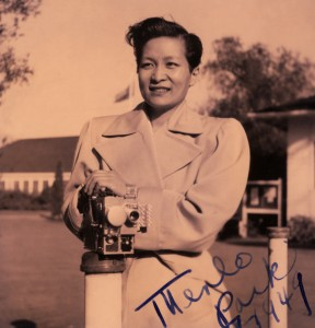 Esther Eng (d/w/p/o) 1949, Honolulu, HI. PC