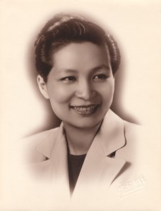 Esther Eng (d/w/p/o), 1946. PC
