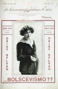 Daisy Sylvan in «La Cinematografia Italiana ed Estera», XIV (july 10 1920), 7, 1. PC