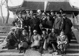 Minxin's crew of Mulan Joins the Army>/i> (1928).