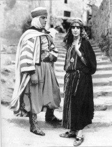 Haydée Chikly with Ramon Navarro in The Arab (1924). PC