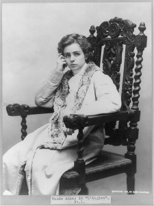 "Maude Adams in ""L'Aiglon."" USW"