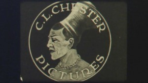 Screenshot of logo for C.L. Chester Pictures. PC