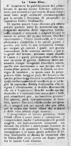 "Newspaper article about La Liana-films"" in Film (1920). PC"