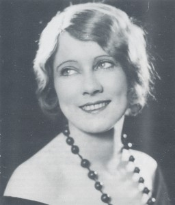 Elsa Sylvaney c. 1920s from the book Charles and Elsa Chauvel: Movie Pioneers.