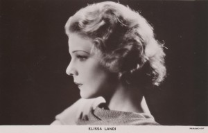 Elissa Landi, star of Knowing Men (1930) and The Price of Things (1930), Elinor Glyn (d/w/p/o).