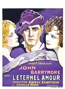 Poster for Eternal Love (1929).
