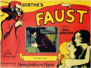 Poster for Faust (1926)