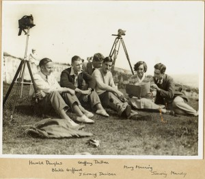 Irish Amateur Films on location. NLI