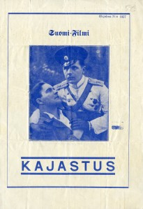 Film programme for Kajastus (1930). KAVI