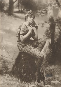 Maude Adams as Peter Pan c.1905. PD