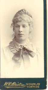 Dorothea Mitchell, circa 1898. PC