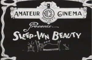 Screenshot, Sleep-Inn Beauty (1930).