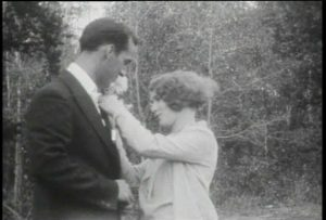 Screenshot, The Fatal Flower (1930).