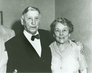 Edwin and Gertrude Thanhouser in 1951. PC