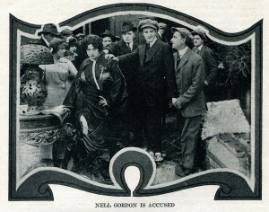 publicity still Grace Cunard (a) and Francis Ford The Return of Twins' Double (1914) WFHI