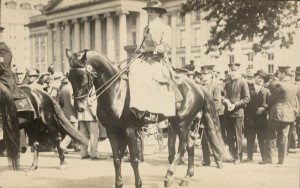 Mrs. Juliet Barrett Rublee (d) Grand Marshal of the procession organized by the Congressional Union for Woman Suffrage, LOC