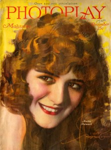 Anita Stewart (a/p), Photoplay cover painted by Rolf Armstrong, appeared twice, in 1915 and 1920. PC