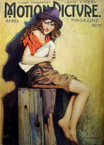 Anita Stewart (a/p) Motion Picture Magazine (1919), The Model Waif(1919). PC