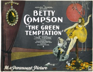 Betty Compson (a) The Green Temptation(1922) Julia Crawford Ivers (w), MoMI