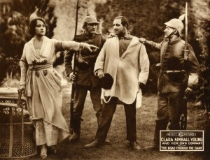 Publicity stil, Clara Kimball Young (a/p) The Road Through the Dark (1918), Lady Lucy Duff Gordon (des), PCRB