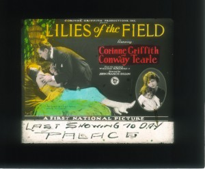 Slide Lilies of the Field (1930) Corinne Griffith (a), PCJY