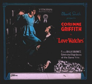 Corinne Griffith (a) Alice Terry (a) Slide Love Watches (1918), PC